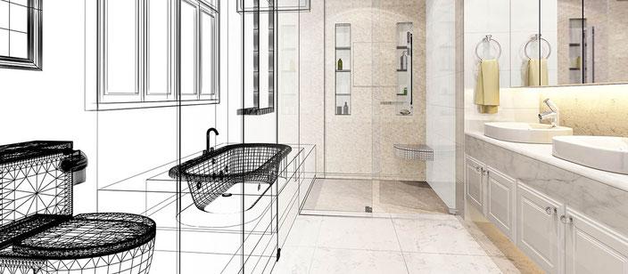 Badgestaltung und Sanitärtechnik aus Bochum
