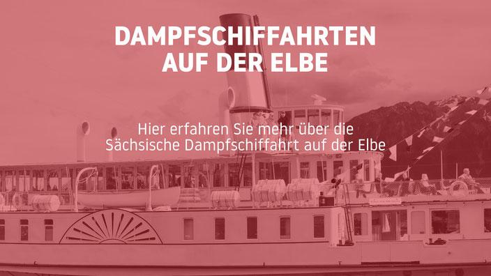 Sächsische Dampfschiffahrt auf der Elbe