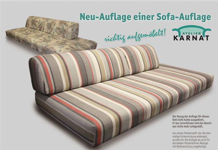 Sofas & Auflagen - Atelier Karnat | Polsterei | Raumausstattung