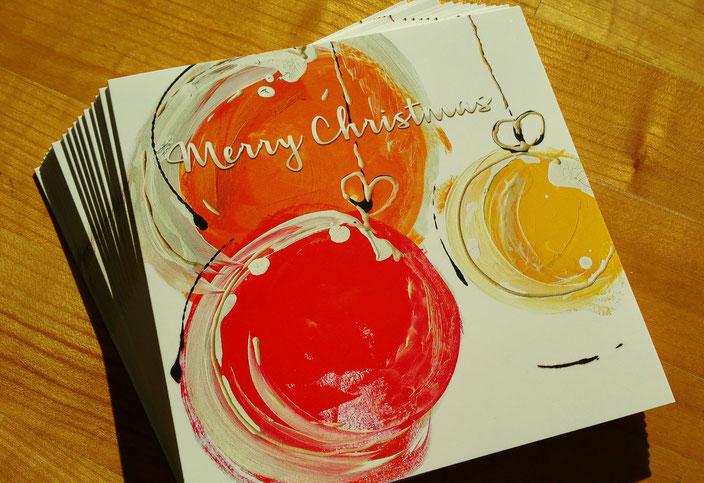 Spezielle Weihnachtskarten inkl. Spende