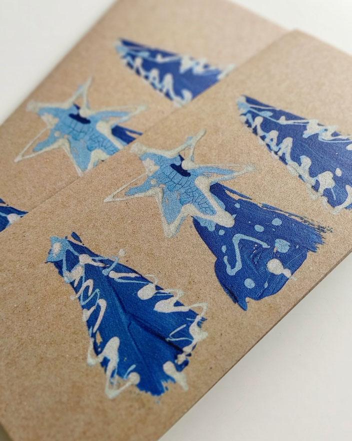 nARTura Kunstkarten von UH-ART Design für spezielle Weihnachtsgrüsse