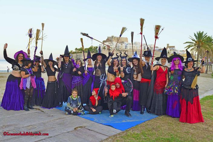 Hexentanz der Tanzgruppe Mènades de Irta Peniscola