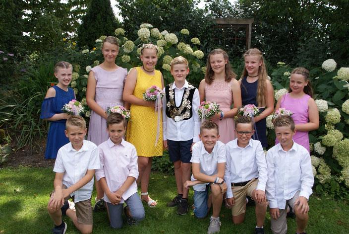 Kinderkönig Bernhard Willen, Madlage mit Königin Charlotte Hemme