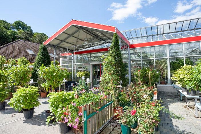 Gärtnerei Eingang