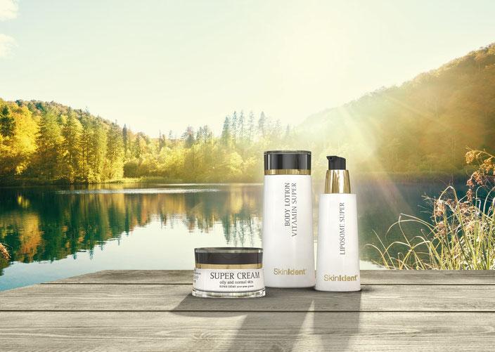 Optimale Verträglichkeit, optimale Anti-Aging-Wirkung - Erleben Sie die besonderen Eigenschaften der Dr. Baumann SkinIdent Produkte