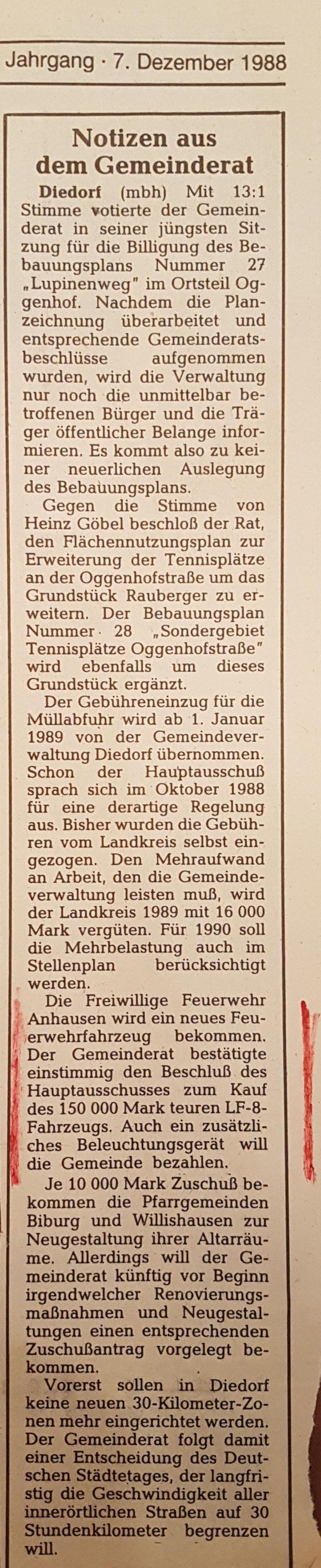 Neue Zeitung, 07. Dezember 1988
