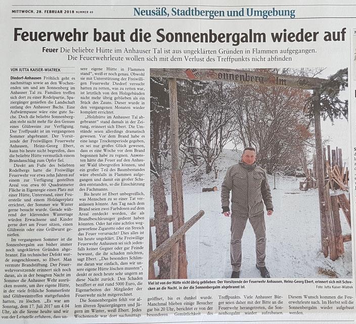 Augsburger-Allgemeine, 27. Februar 2018
