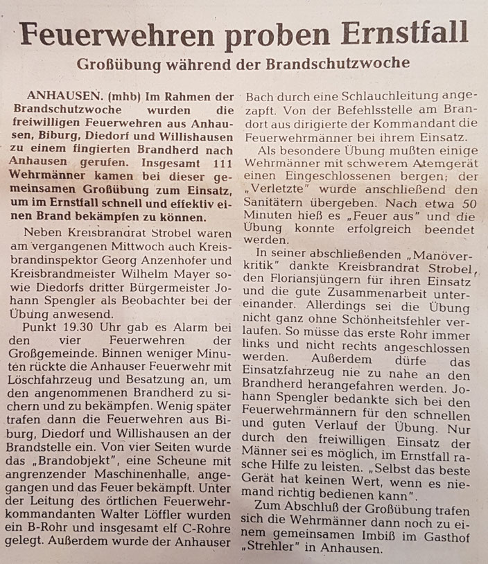 Zusamtaler Stadtzeitung, 07. Oktober 1987