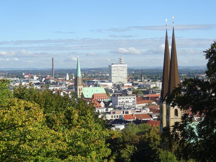 Stadtansicht Bielefeld - Mitte