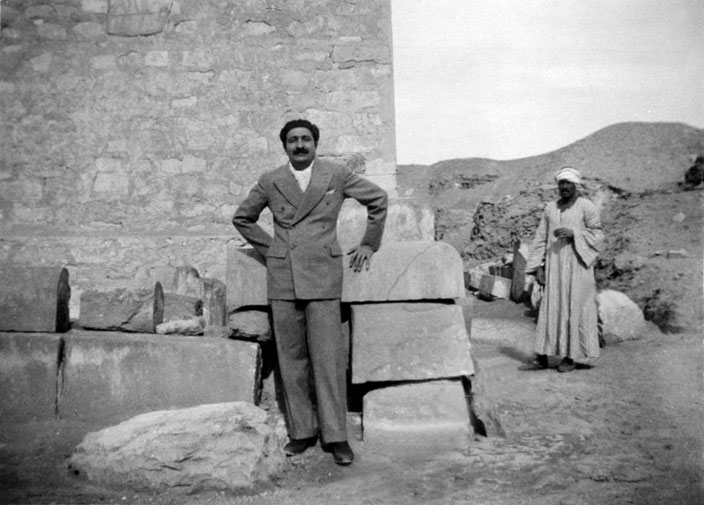 Meher Baba in Sakkara, December 1932