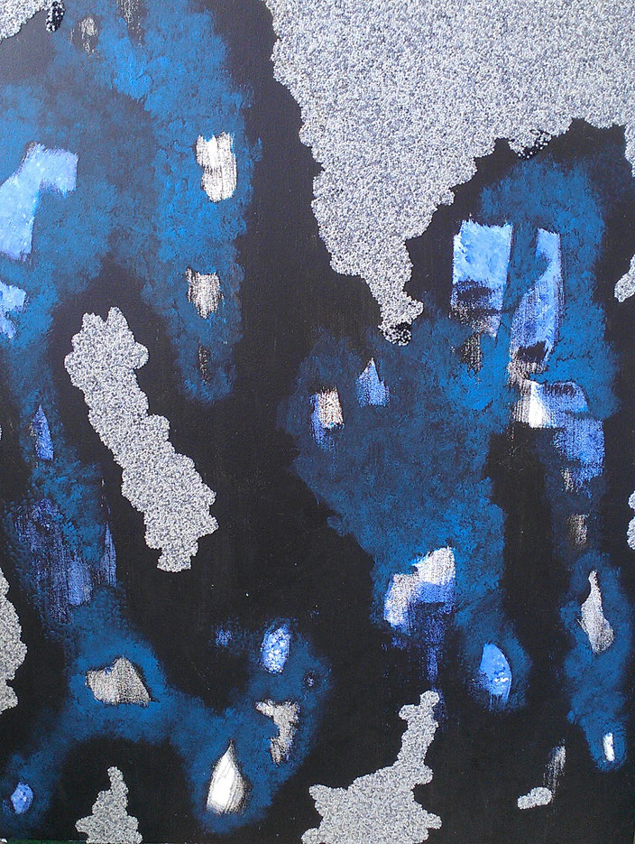 Icebead 120x80 cm Beads on Canvas