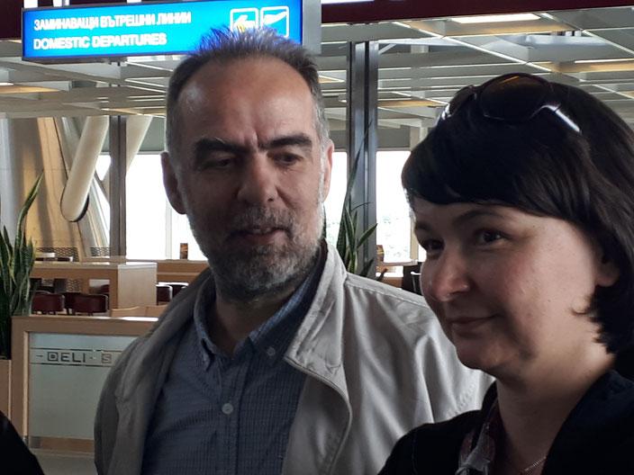 Toma Belev und Tanya Schnell - zwei Generationen von NaturschützerInnen in Bulgarien