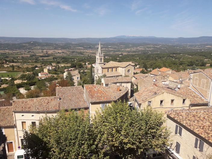 Die kleine Stadt Bonnieux mit seinen heute 1500 EinwohnerInnen machte einen freundlichen und entspannten Eindruck auf uns.