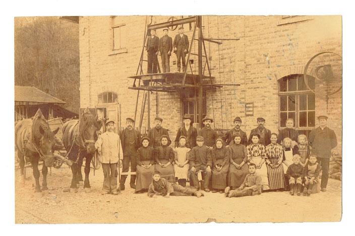 Papiermühle Seega im Jahr 1909