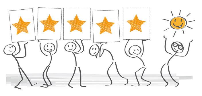 Bewertungen und Kundenstimmen