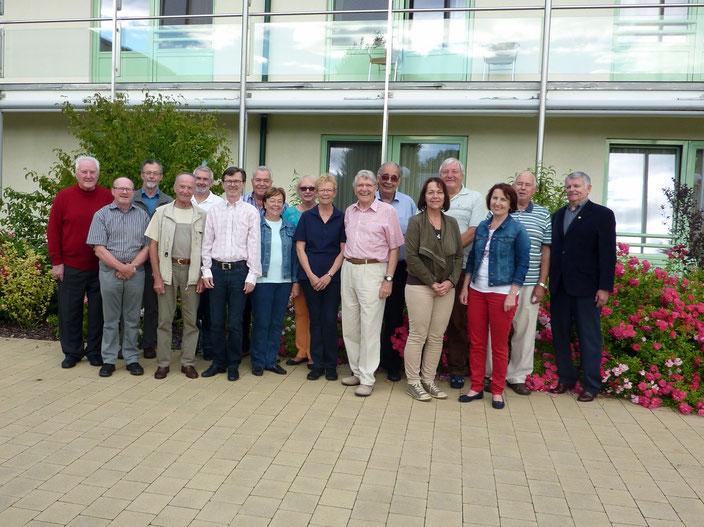 Der Vorstand und die Beiräte des Hospizvereines Wiener Neustadt ab 12. September 2016