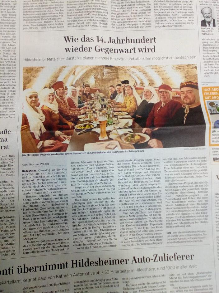 ©Hildesheimer Allgemeine Zeitung, 2019