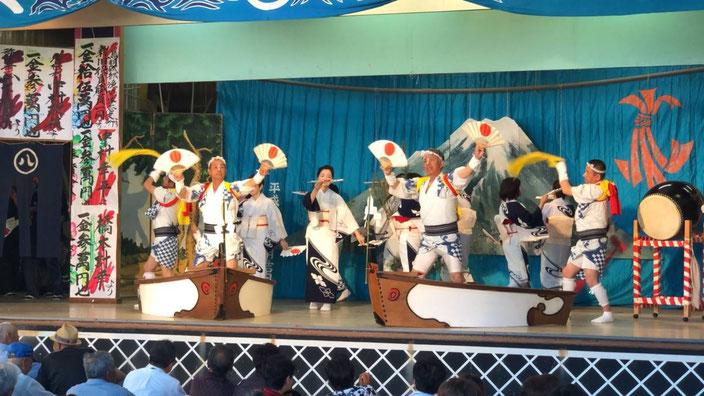 富士参りの踊り