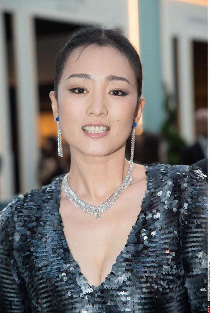 La sublime Gong Li à Paris en septembre 2014 (©DR)