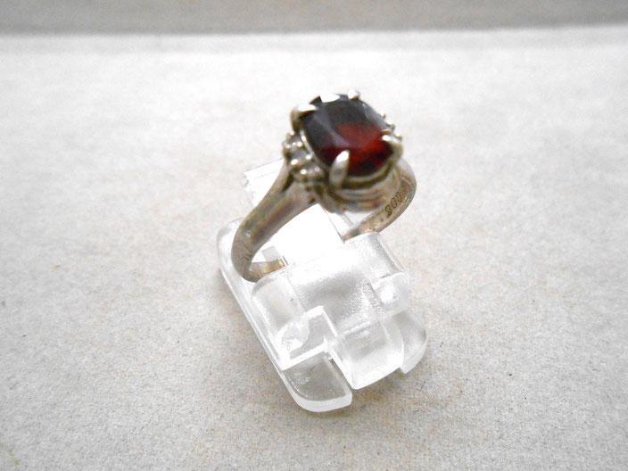 プラチナ リング 指輪 ルビー