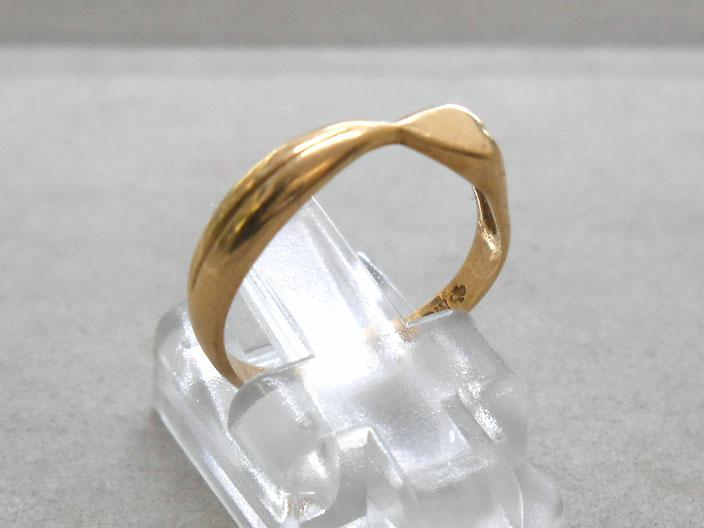 18金 リング 指輪