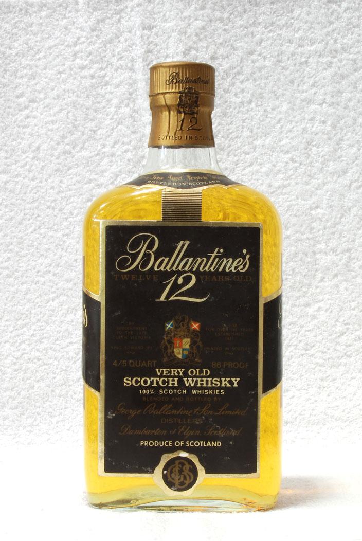 ウイスキー バランタイン