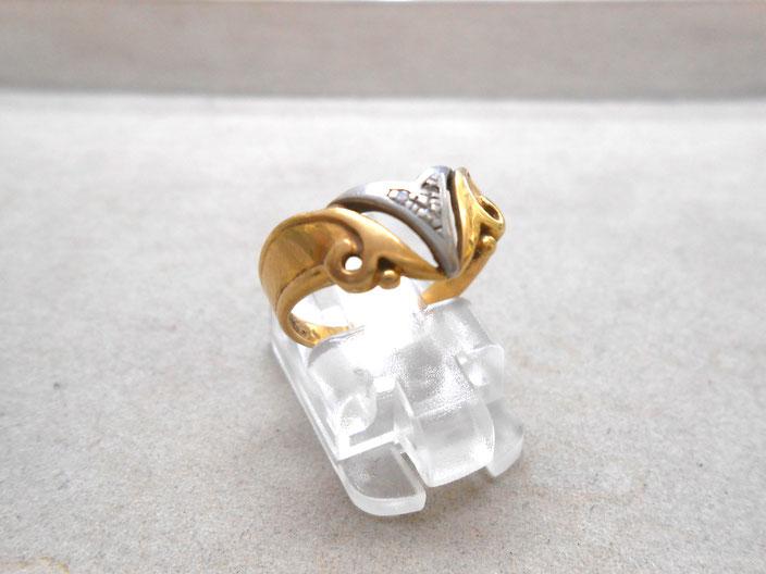 リング 指輪 18金 プラチナ
