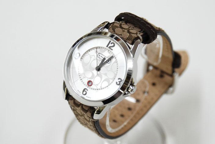 コーチ 時計 リストウォッチ 高価買取