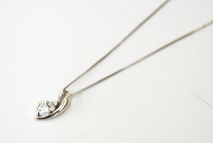 金 プラチナ ホワイトゴールド ダイヤ ネックレス 高価買取