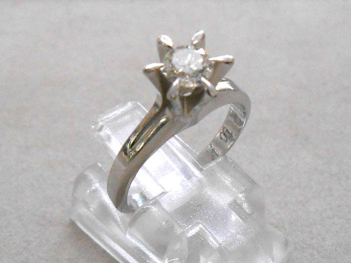 プラチナ リング 指輪 ダイヤ