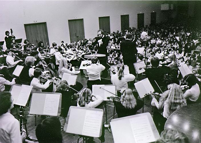 1979 - Kinderkonzert im Gürzenich (Leitung: Uli Gögel - Sprecher: Günter Hässy)