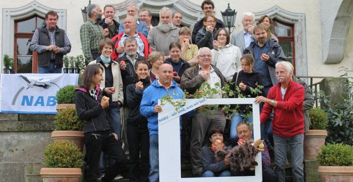 NABU-Regionalgruppentreff in Heynitz 2015, Foto: E. v. W.