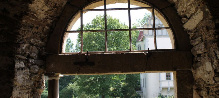 Sanierungsprojekt Sandsteingewände Schlossremise Heynitz, Foto: Eike von Watzdorf