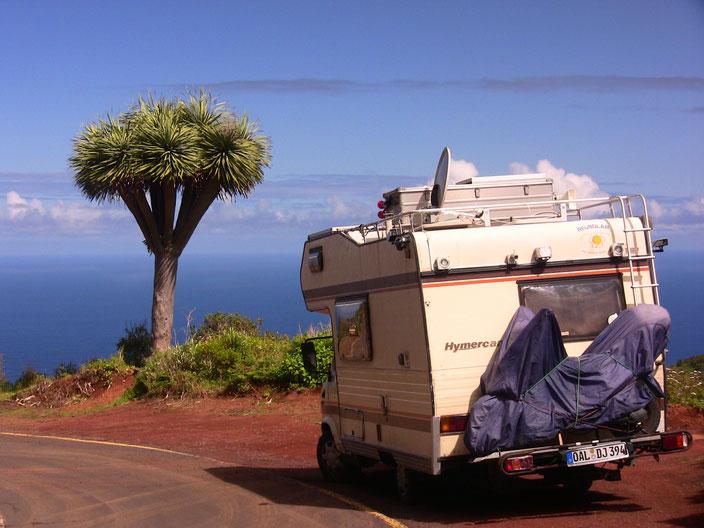 Freiheit mit Komfort im Winter auf La Palma