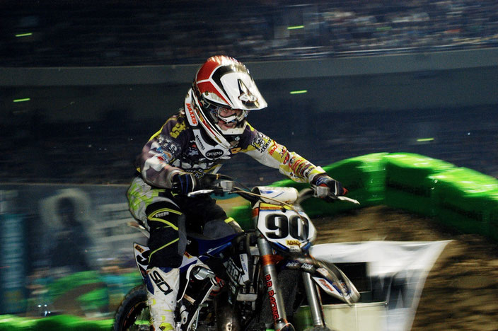 Der neue SX3 - Champion Justin Trache!