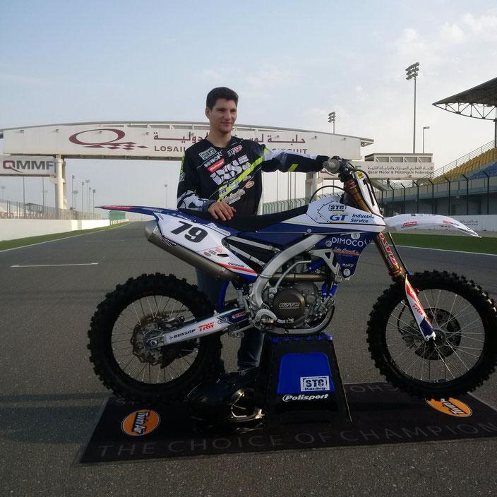 Jaap Corneth - 1. Rennen der MXGP in  Qatar/Losail