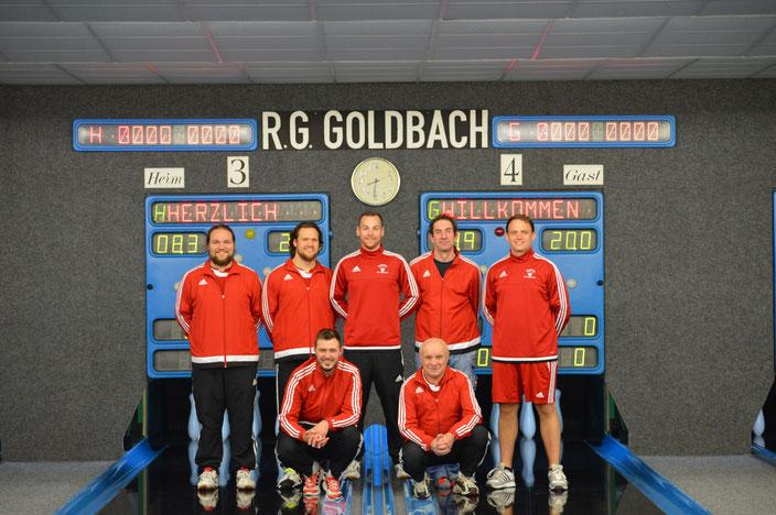 v. l. steh.: Henrik Endemann, Sascha Endemann, Marcel Pohl, Michael Däsch, Daniel Boenke, Christian Geisenhof, Günther Pelka