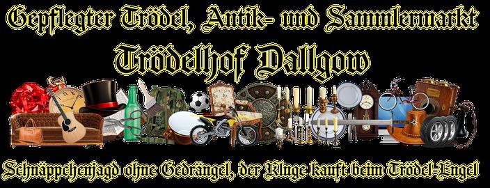 Gepflegter Trödel, Antik- und Sammlermarkt Dallgow