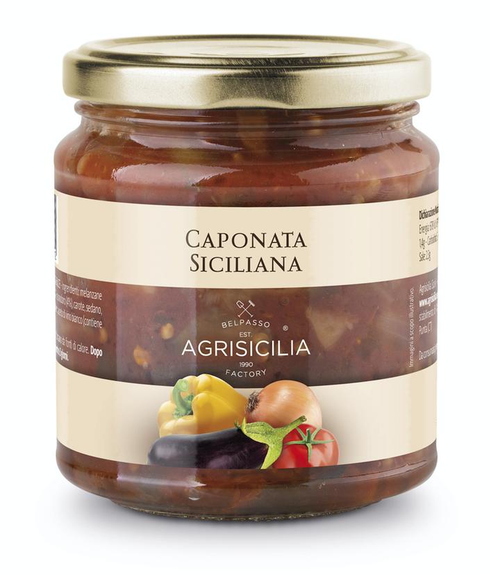 Antipasto Caponata Siciliana. TOP Qualität bei Home Art Austria - Einzigartiger Geschmack!