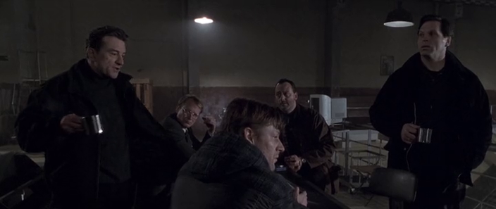 Engrouped / Business-Talks / Scheming About Getting The Case / Jean Reno & Robert De Niro / Coffee Cups