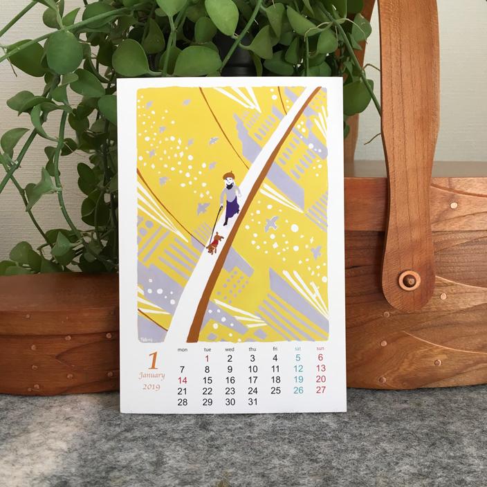 2019年1月のカレンダー読み解き