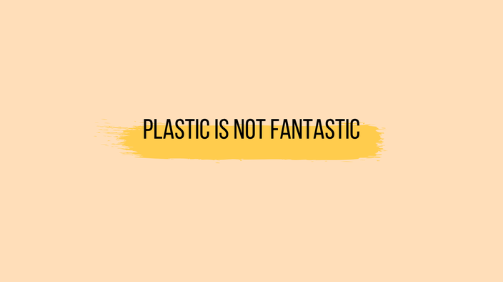 Plastic is not fantastic Wallpaper RiekesBlog