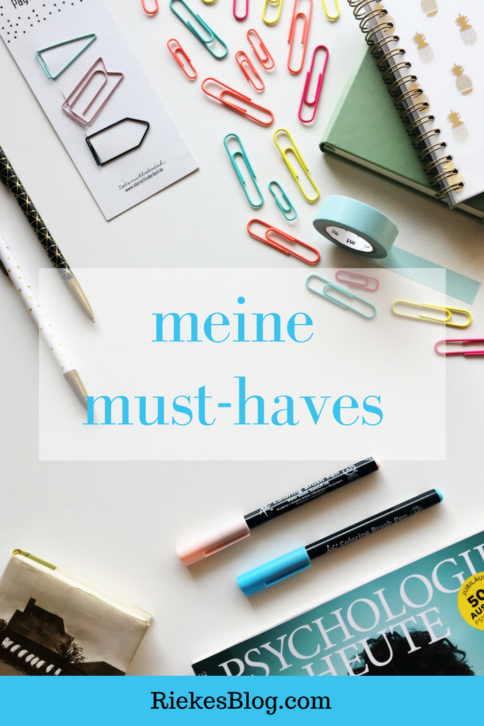 Stationary must-haves
