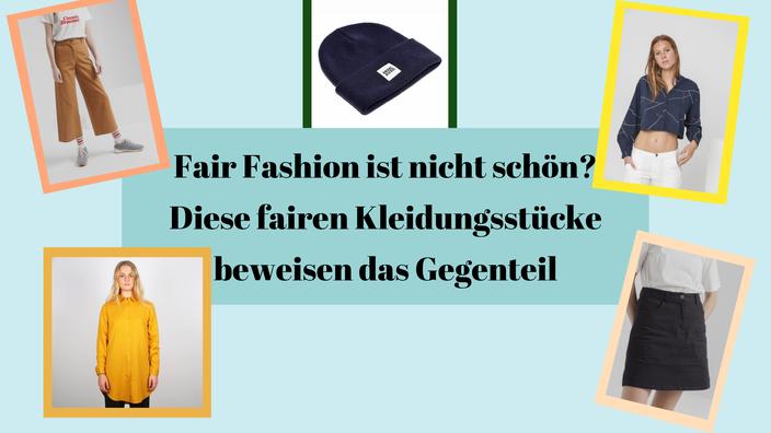 Titelbild: Fair Fashion ist nicht schön? — Diese fairen Kleidungsstücke beweisen das Gegenteil