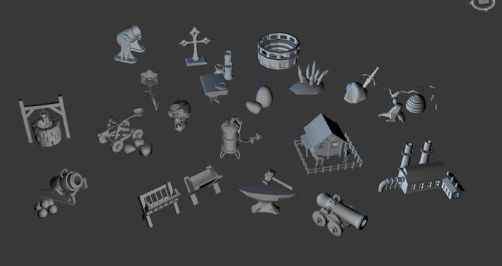 Work in Progress - 3D Modelle für Befestigungen