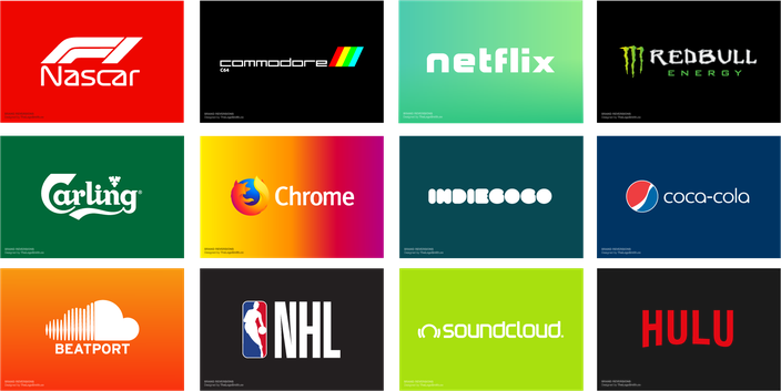Brand Logo Reversions by Graham Smith