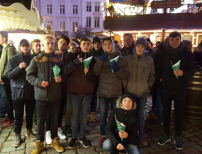 Unser Team auf dem Lübecker Weihnachtsmarkt