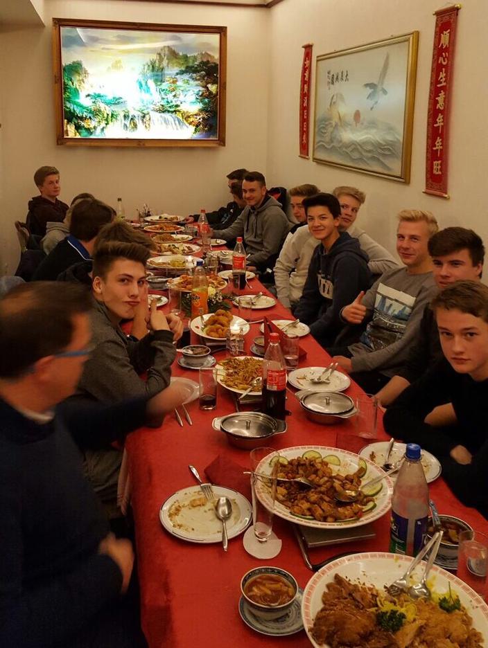 Teamauftakt 2017 im Restaurant Phoenix in Stockelsdorf