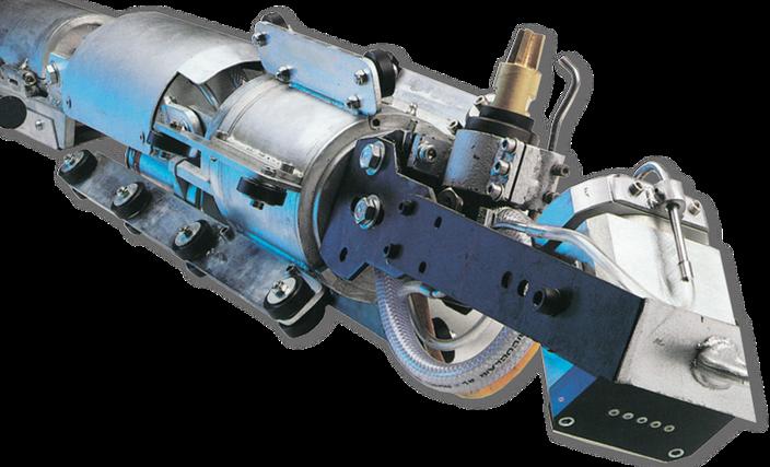 Kanalsanierung, Roboters zum Verpressen von Beton, Kanalservice Mayer Nußdorf