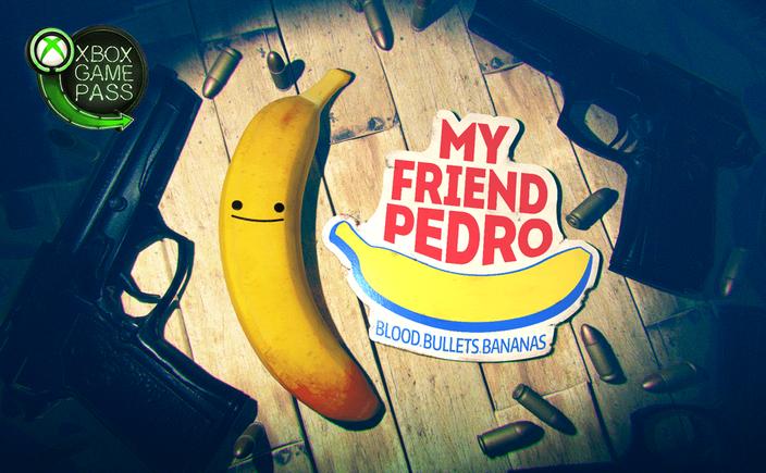 My Friend Pedro, Devolver, DeadToast, Victor Agren, Devolver Digital, Banane, Slowmo, Bullet Time, Action, Blood Bullets Bananas, Waffen